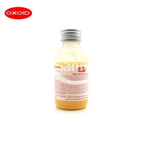 Oxoid Egg Yolk Emulsion 25%, 100mL